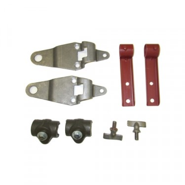Top Bow 8 Piece Bracket Set Fits : 41-45 MB, GPW