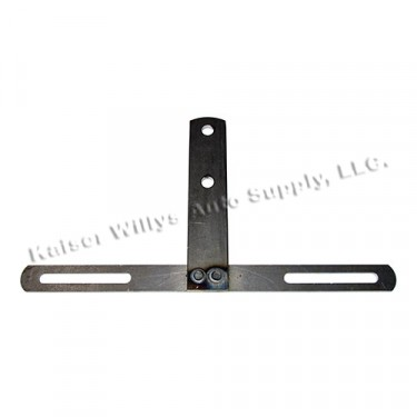 USA Made License Plate Mounting Bracket (front or rear) Fits 41-71 Willys and Jeep