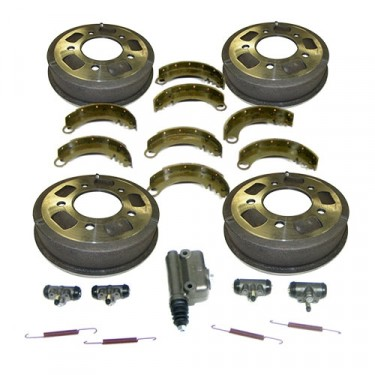 "Complete Master Brake Overhaul Kit 9""   Fits  41-48 MB, GPW, CJ-2A before serial # 215649"