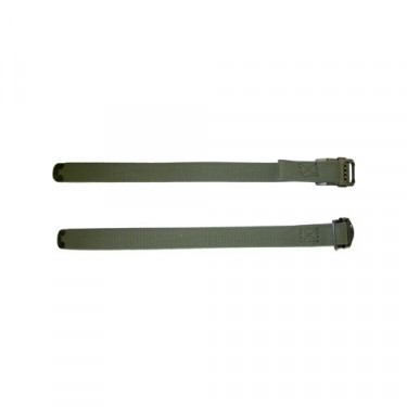 US Made Top Bow Tie Down Strap Set (Slide Jaw Buckle) Fits : 50-52 M38