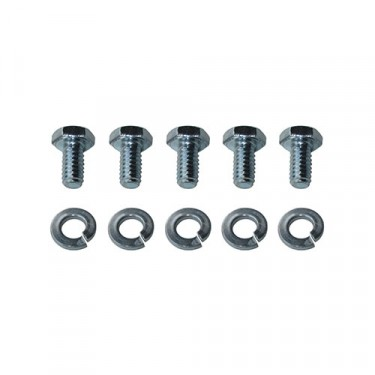 Floor Pan Master Cylinder Access Cover Hardware Kit Fits : 41-45 MB, GPW