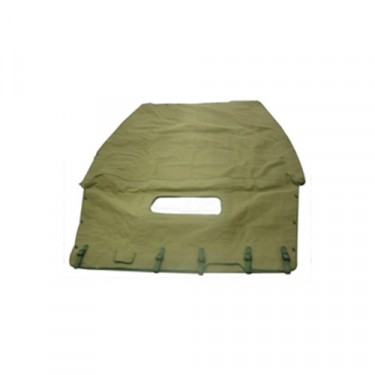 New US Made Canvas Summer Top (olive drab) Fits  41-64 MB, GPW,CJ-2A, 3A, 3B, M38, M38A1