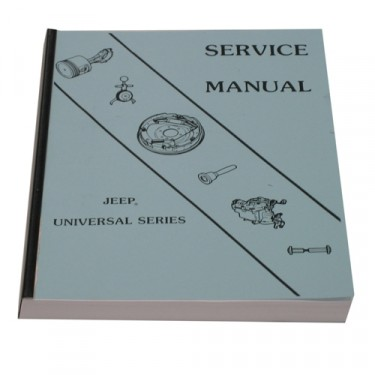 Mechanics (service) Manual  Fits  66-71 CJ-5