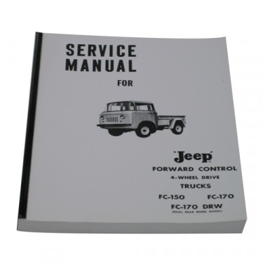 Mechanics (service) Manual  Fits  57-64 FC-150, 170