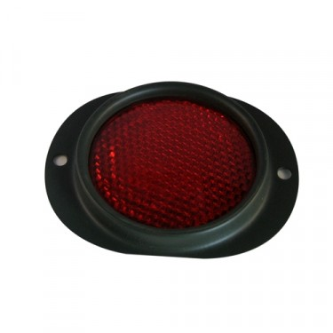 Red Side Marker Assembly (reflector)  Fits : 41-71 Jeep & Willys