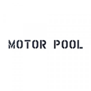 "New Standard 1"" Motor Pool Paint Mask Stencil Fits  41-71 Jeep & Willys"