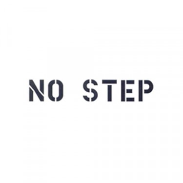 "New Standard 1"" No Step Paint Mask Stencil Fits  41-71 Jeep & Willys"