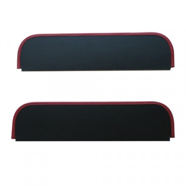 Replacement Sun Visor Pair  Fits  46-51 Jeepster, Station Wagon with Planar Suspension