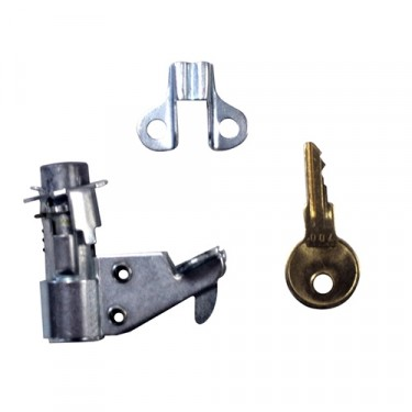 Replacement Rear Tool Bin Lock Assembly (with keys)  Fits  41-45 MB, GPW