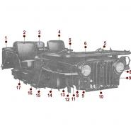 Body - Right Front View - 50-52 M38