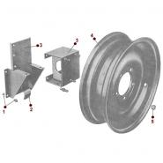Body - Spare Tire Carrier - 50-52 M38
