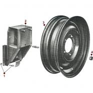 Body - Spare Tire Carrier - 52-71 M38A1