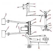 clutch diagrams - willys cj-5, 6