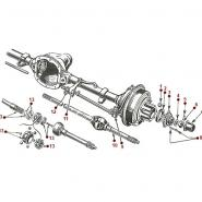 Front Axle Assembly - MB