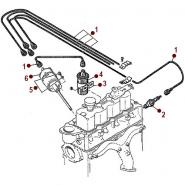 Ignition System 134 F - 48-51 Jeepster