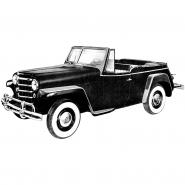 48-51 Jeepster Diagrams