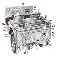 Body - Rear View - 52-71 M38A1
