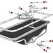 4-134 Engine - Oil Pan & Float