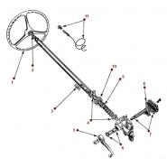 Steering Diagrams - Willys M38A1