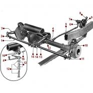 Steering System - 46-49 CJ-2A