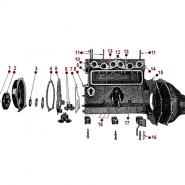 4-134 Engine - Timing Chain Cover
