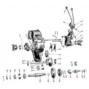 Transfer Case Diagrams - Willys Truck