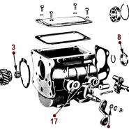 Transmission Diagrams - Willys CJ-2A