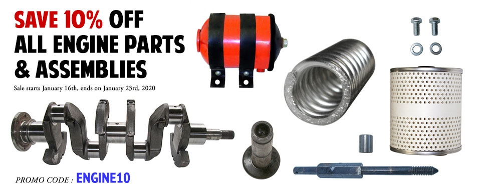 10% Off Engine Parts at Kaiser Willys