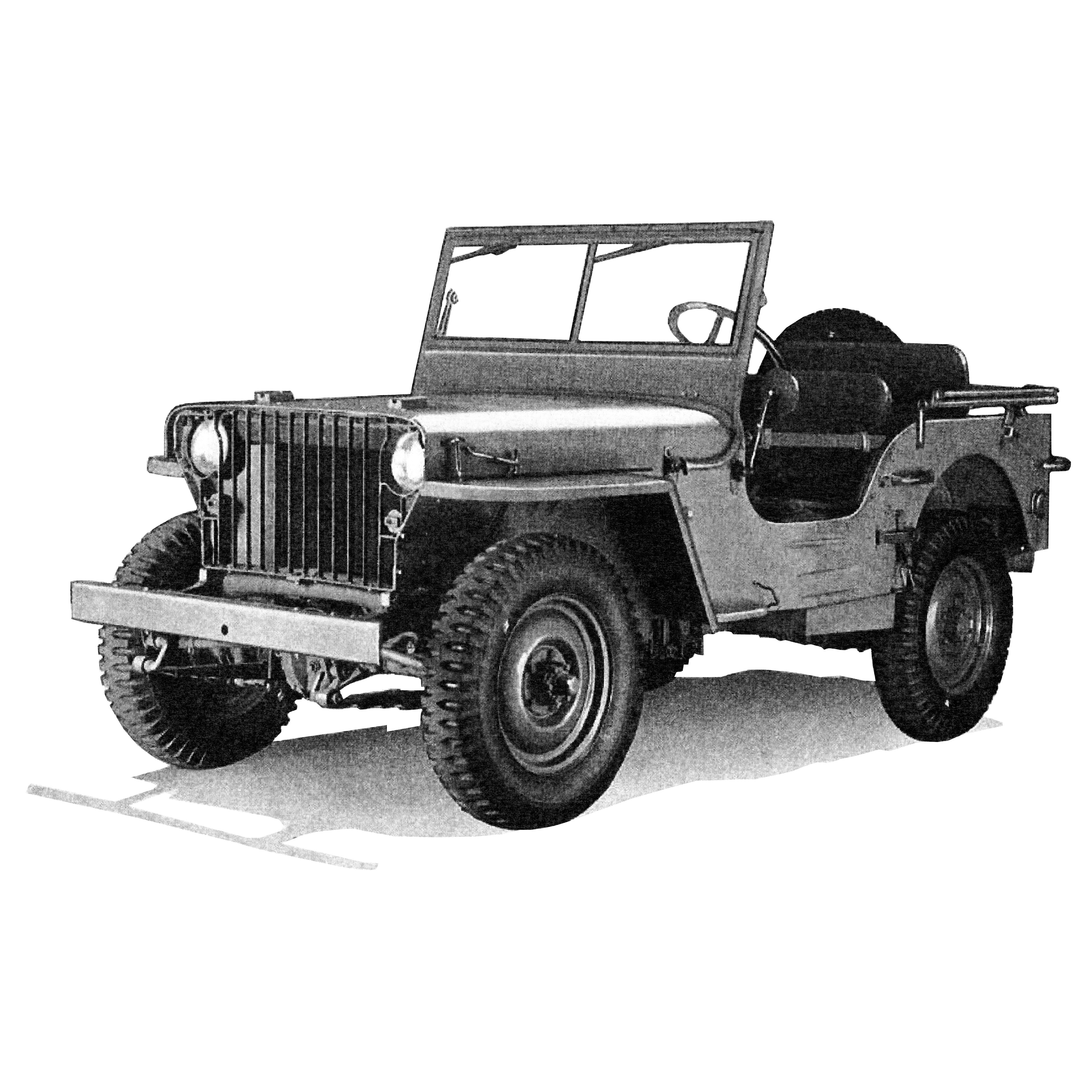 Illustration - Willys MB