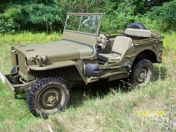Gerald Rosenitsch - 1943 Willys MB
