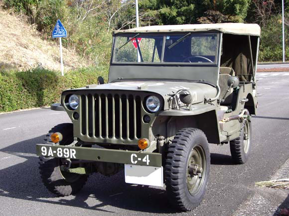 Itsuro Shirasaka - 1944 Willys MB