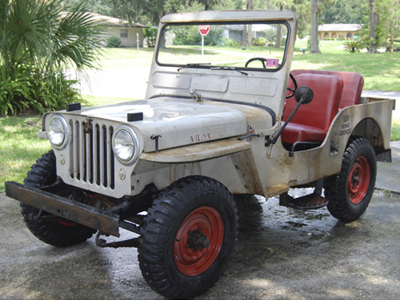 Kindra Beck - 1950 CJ-3A