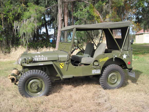 About Willys Vehicles M38