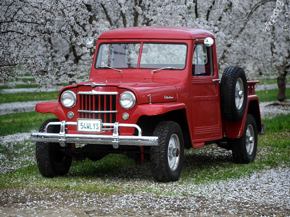 Dennie Farris - 1954 Willys Truck