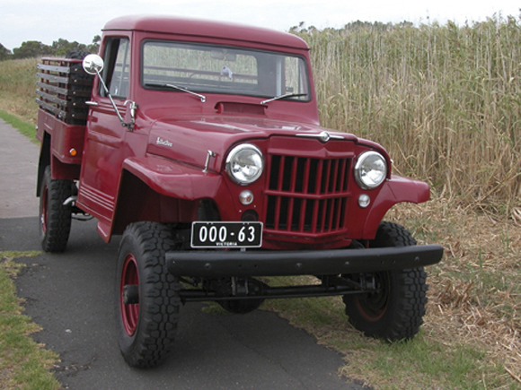 Mark Dawson - 1963 Willys Truck