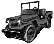 Illustration - CJ-2A Civilian Jeep