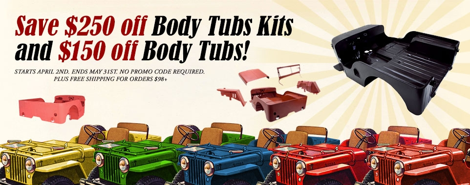 Save Off All Body Tubs and Tub Kits