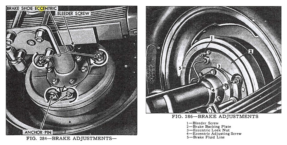Brake Adjustment Illustration