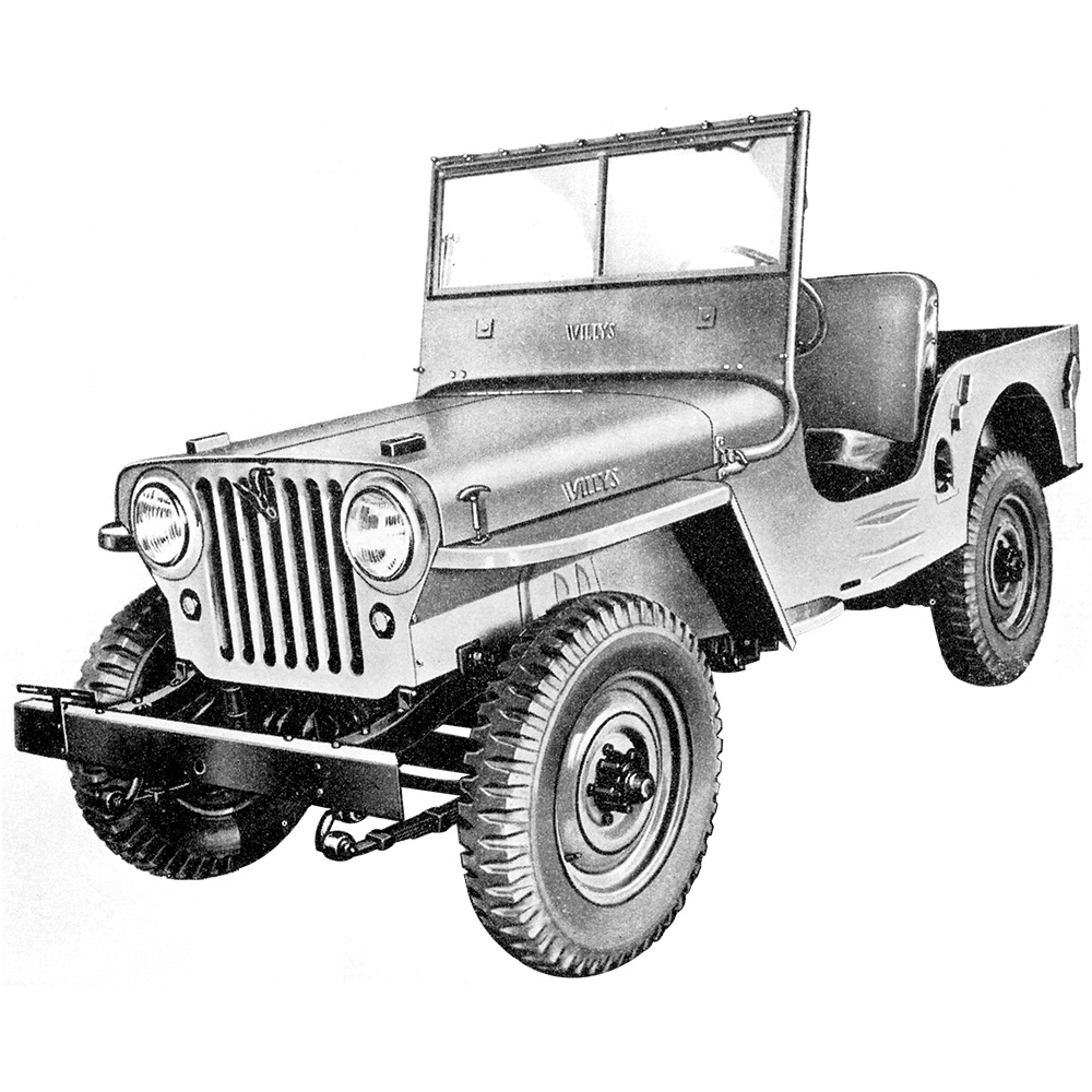 Illustration - Willys CJ-2A