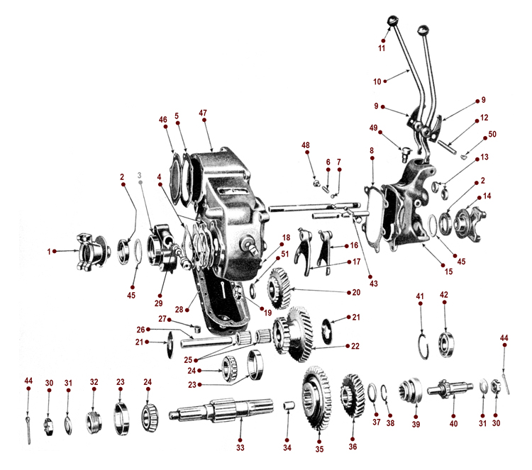 Dana 18 Transfer Case Specs
