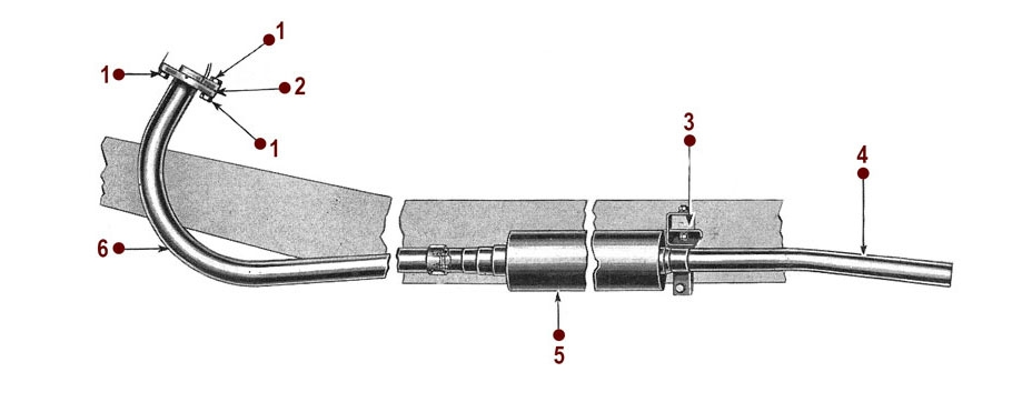 Exhaust System Diagram