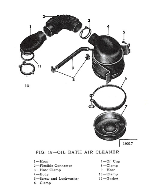 Oil Bath Air Cleaner