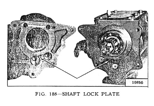 Shaft Lock Plate
