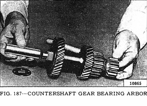Countershaft Gear Bearing Arbor