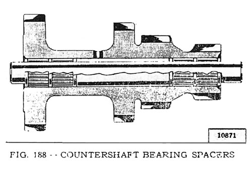 Countershaft Bearing Spacers