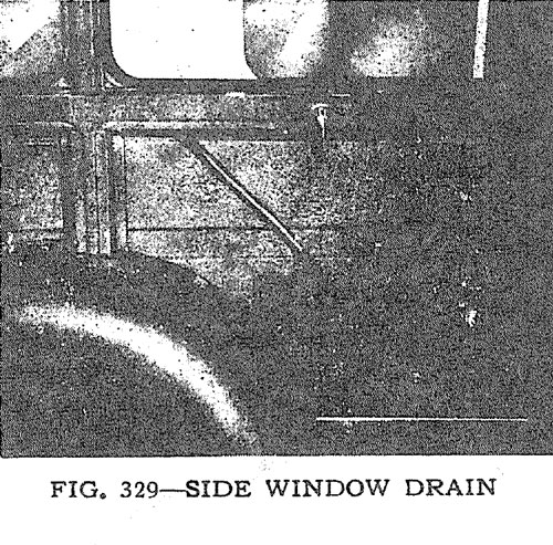 Side Window Drain