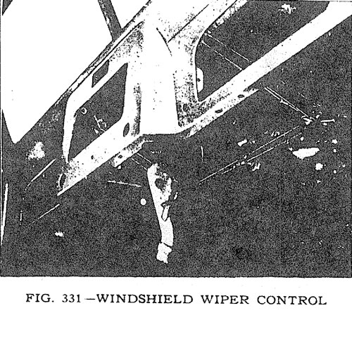 Windshield Wiper Control
