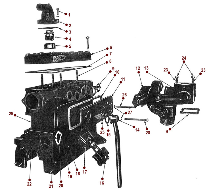 L Head Engine Diagram