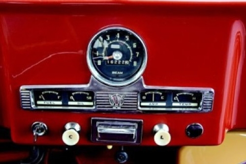 Later Instrument Cluster Configuration