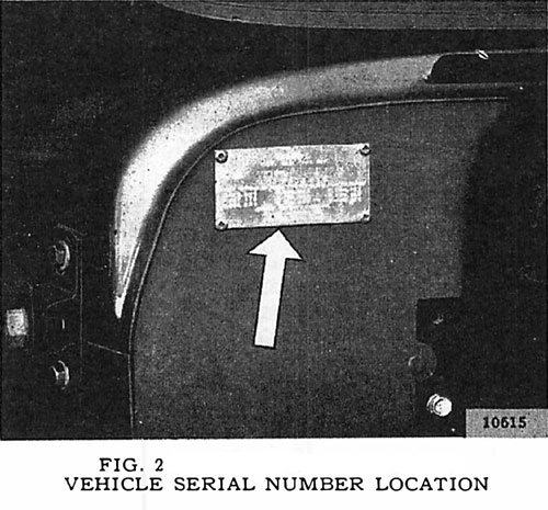 General serial number identification